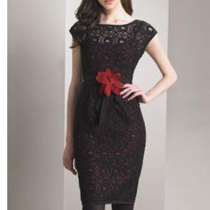"""Nanette Lepore """"No No Noir"""" Black Lace Dress"""
